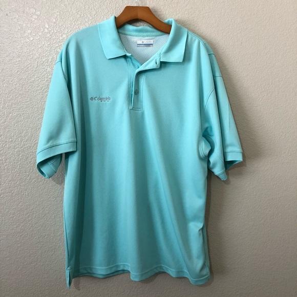 b95da157e09 Columbia Shirts | Pfg Omnishade Fishing Polo | Poshmark